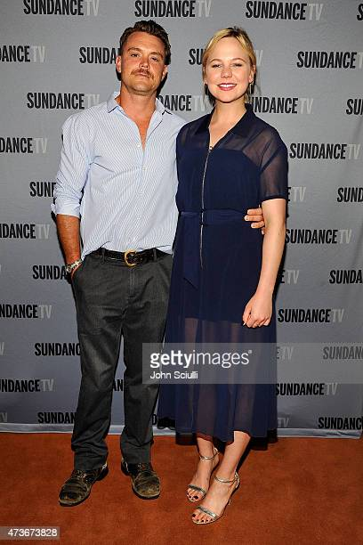 ActorsÊClayne Crawford and Adelaide Clemens attend SundanceTV's presentation of Panel Discussions featuring creators and stars of 'Rectify' and 'The...