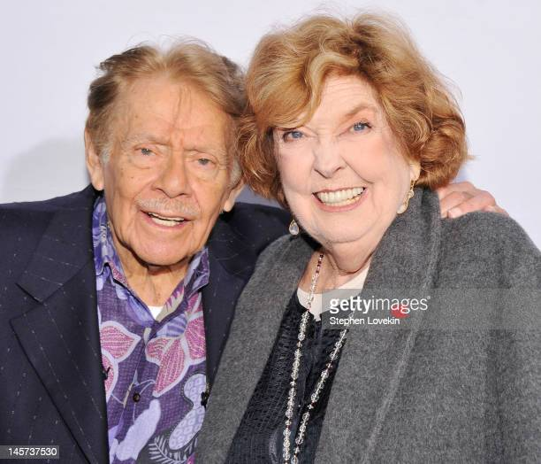 Actors/comedians Jerry Stiller and Anne Meara attend the 2012 Made In NY Awards at Gracie Mansion on June 4, 2012 in New York City.