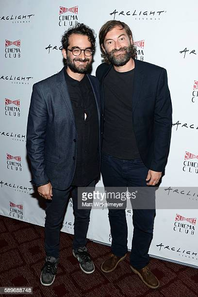 Actors/directors Jay Duplass and Mark Duplass attend the screening of Caterpillar Event Productions' Mad at ArcLight Hollywood on August 14 2016 in...