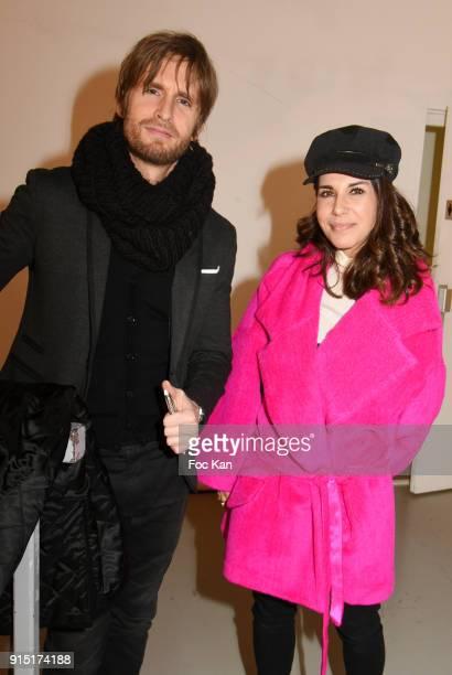 Actors/directors Philippe Lacheau and Reem Kherici attend the 'Fetons 100 Ans De Liberte' Les 100 Ans De La Petite Culotte at Palais de on February 6...