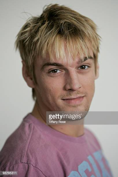 Actor/Singer Aaron Carter attends GBK's American Music Awards Luxury Gift Lounge on November 21 2009 in Los Angeles California