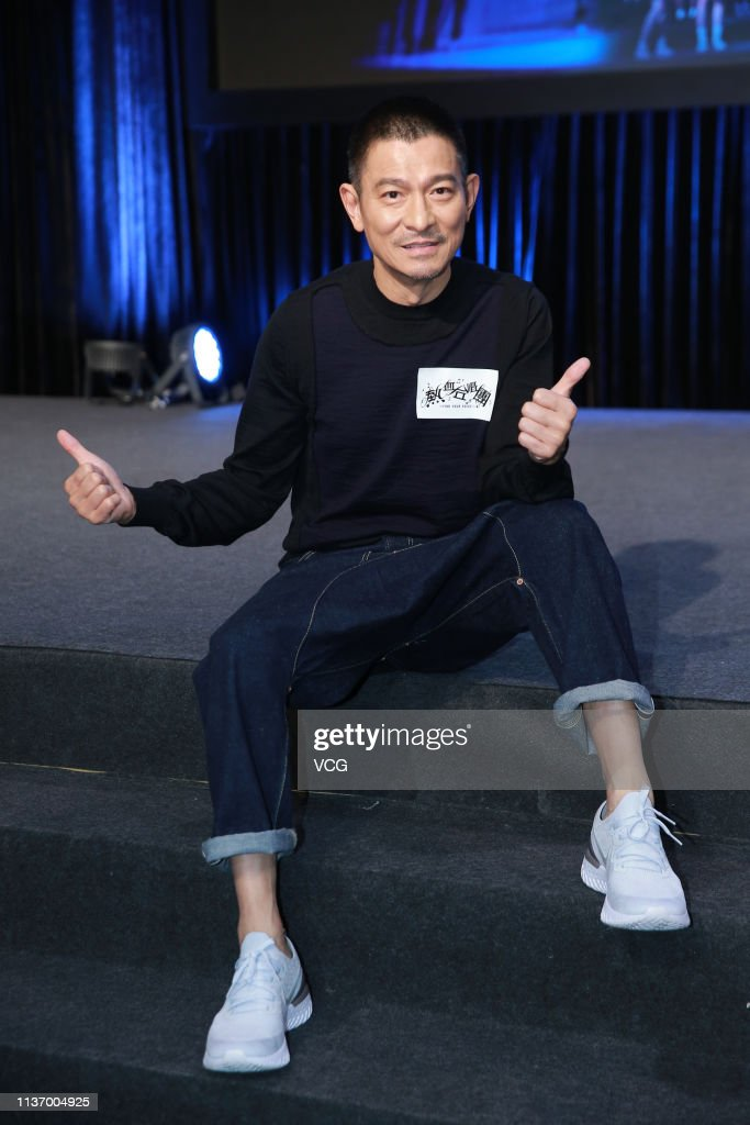 HKG: Andy Lau Attends 'Find Your Voice' Hong Kong Press Conference