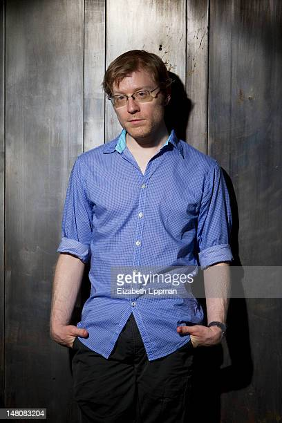 Actor/singer Anthony Rapp is photographed for Boston Globe on June 16 2012 in New York City