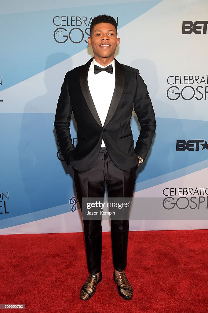 Actor/singer Bryshere Y. Gray attends BET Celebration Of Gospel 2016 at Orpheum Theatre on January 9, 2016 in Los Angeles, California.