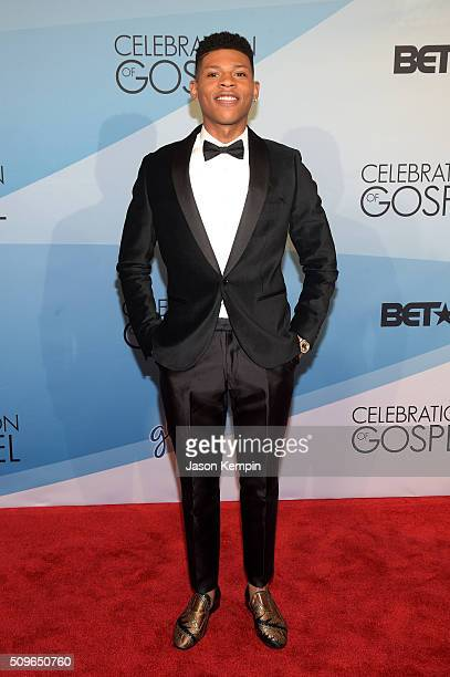 Actor/singer Bryshere Y Gray attends BET Celebration Of Gospel 2016 at Orpheum Theatre on January 9 2016 in Los Angeles California