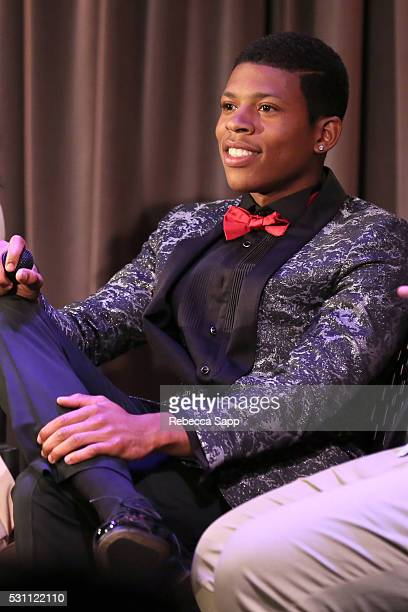 Actor/singer Bryshere Yazz Gray speaks onstage at EMPIRE An Inside Look At The Making Of The Music Phenomenon at The GRAMMY Museum on May 12 2016 in...