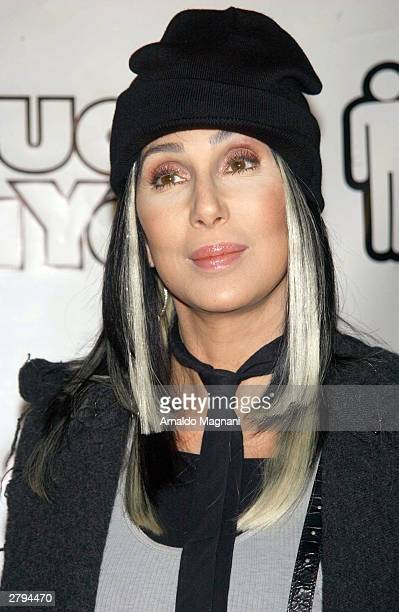 Actor/Singer Cher arrives at the 20th Century Fox film premiere of Stuck On You December 8 2003 in New York City