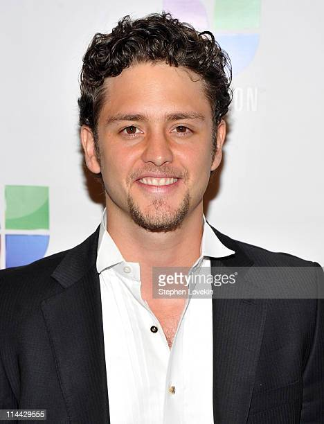 Actor/singer Christopher Von Uckermann attends Univision's Upfront reception featuring Hispanic America's Most Beloved Stars at The Edison Ballroom...
