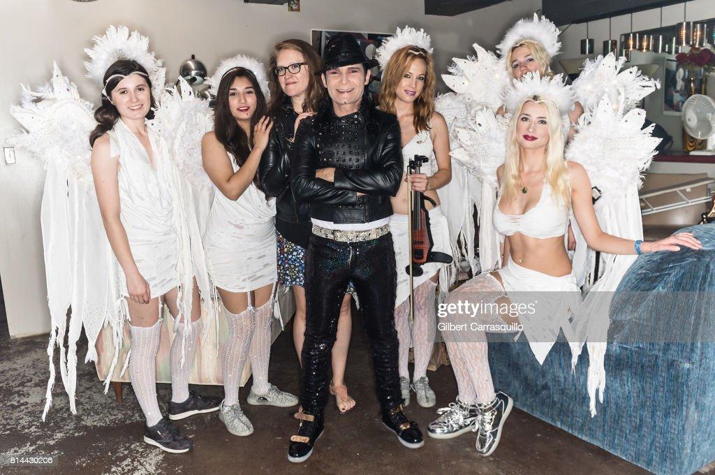 Corey Feldman And The Angels In Concert - Philadelphia, Pennsylvania : News Photo