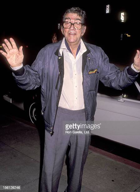 Actor/Singer Dean Martin on November 5 1991 dining at La Famiglia Restaurant in Beverly Hills California