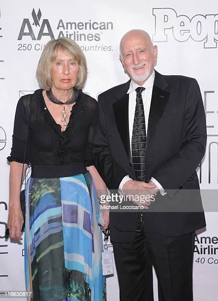 Actor/singer Dominic Chianese and wife Jane Pittson attend the 42nd annual Songwriters Hall of Fame Induction Ceremony at The New York Marriott...