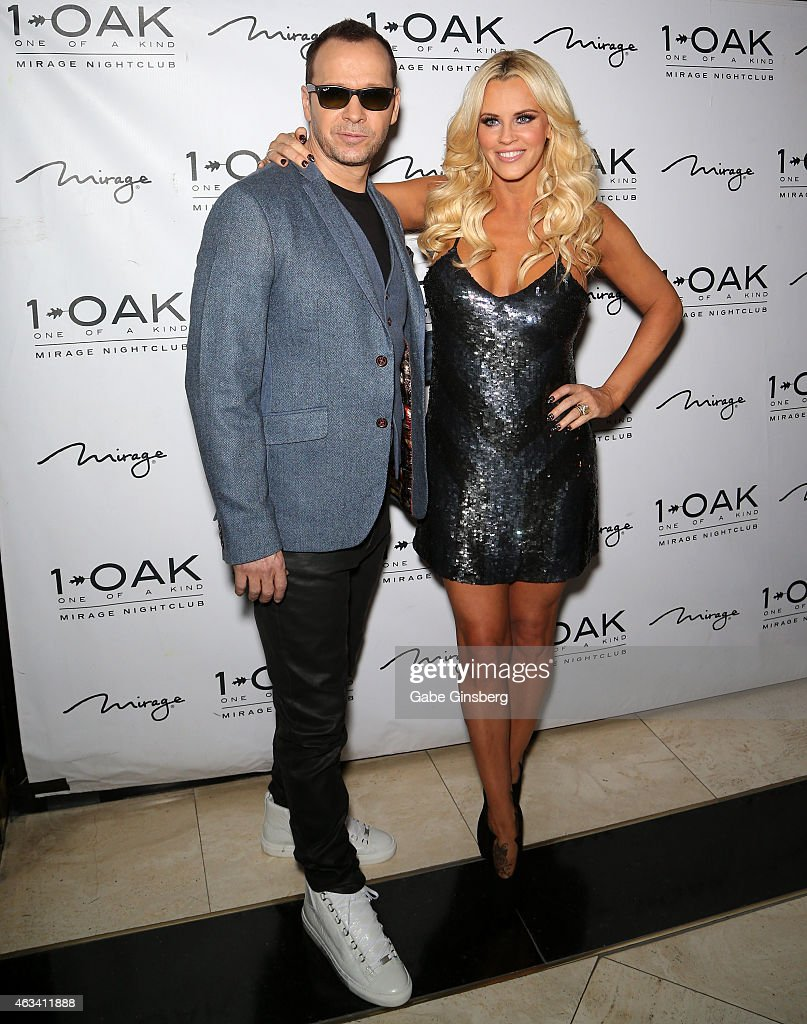 Actor/singer Donnie Wahlberg And His Wife Actress/comedian Jenny McCarthy  Attend A Valentineu0027s