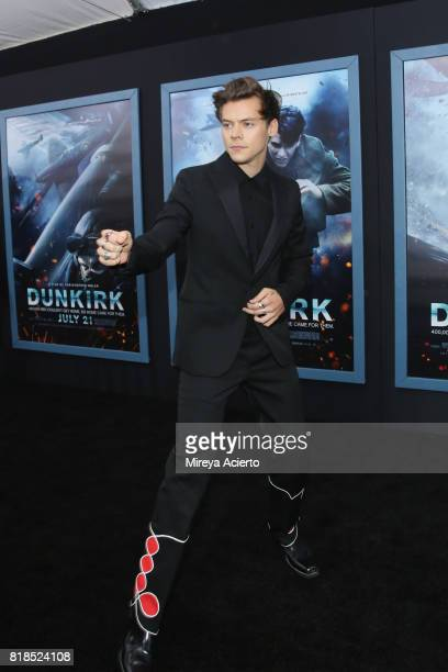 Actor/singer Harry Styles attends the DUNKIRK New York Premiere on July 18 2017 in New York City