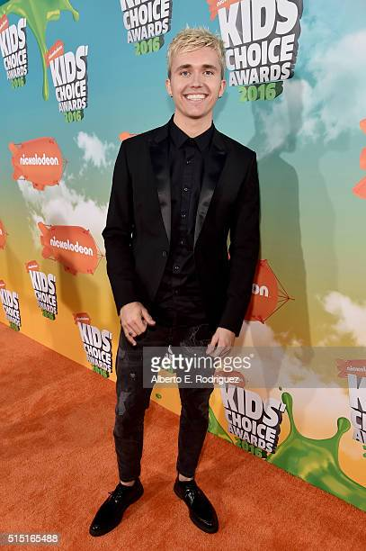 Actor/singer Ian Thomas attends Nickelodeon's 2016 Kids' Choice Awards at The Forum on March 12 2016 in Inglewood California