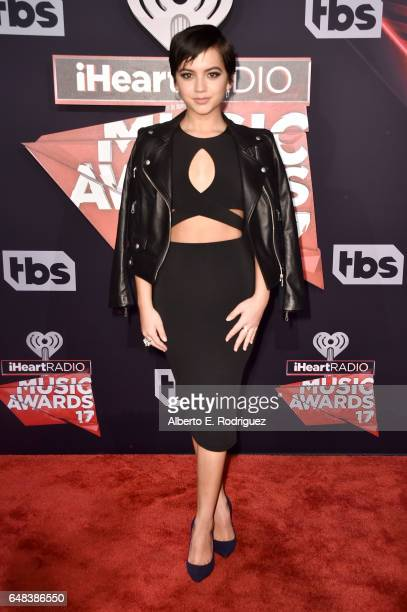 Actorsinger Isabela Moner attends the 2017 iHeartRadio Music Awards which broadcast live on Turner's TBS TNT and truTV at The Forum on March 5 2017...