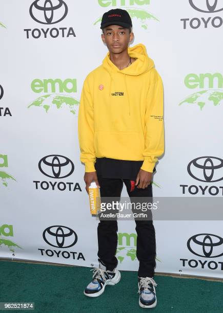 Actor/singer Jaden Smith attends the 28th Annual EMA Awards Ceremony at Montage Beverly Hills on May 22 2018 in Beverly Hills California