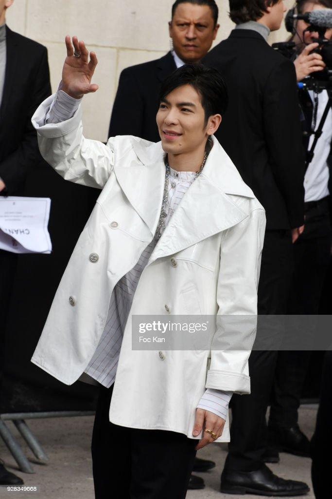 Chanel : Outside Arrivals - Paris Fashion Week Womenswear Fall/Winter 2018/2019 : News Photo