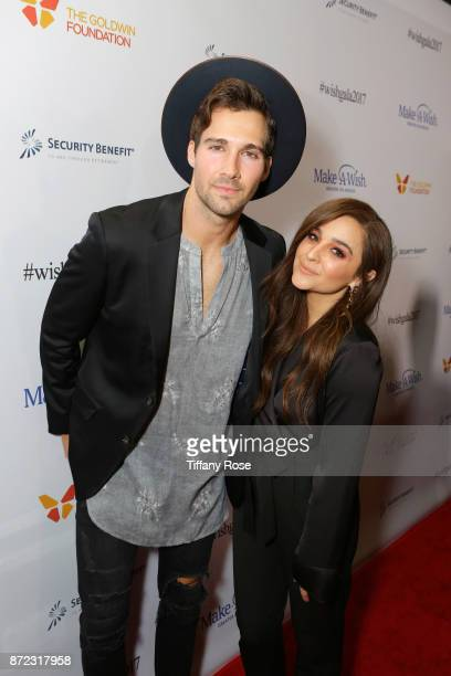 Actor/singer James Maslow and singer Alisan Porter at the 2017 Make a Wish Gala on November 9 2017 in Los Angeles California