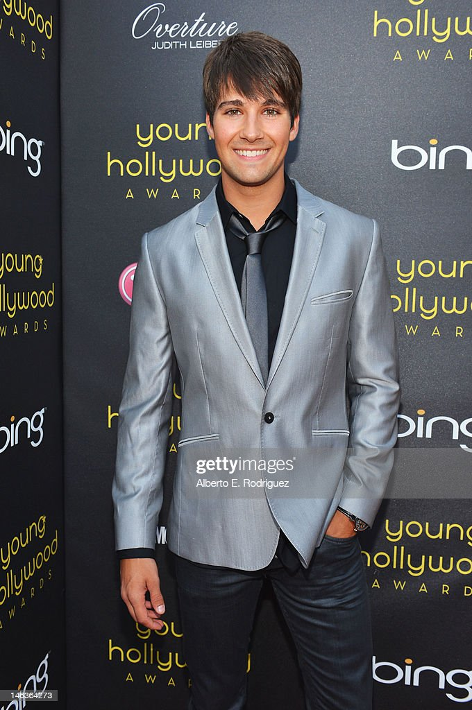 Actor/singer James Maslow arrives at 14th Annual Young Hollywood Awards presented by Bing at Hollywood Athletic Club on June 14, 2012 in Hollywood, California.