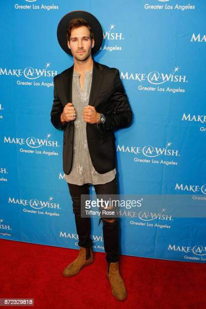 Actor/singer James Maslow at the 2017 Make a Wish Gala on November 9 2017 in Los Angeles California
