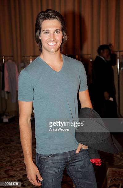 Actor/singer James Maslow attends the 17th Annual Race to Erase MS event co-chaired by Nancy Davis and Tommy Hilfiger at the Hyatt Regency Century...