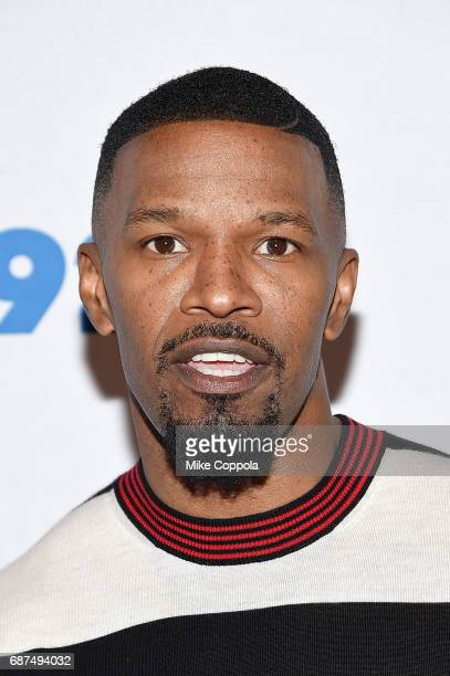 Actor/singer Jamie Foxx poses for a photo at 92nd Street Y Presents Jamie Foxx In Conversation With Michael Strahan at 92nd Street Y on May 23 2017...