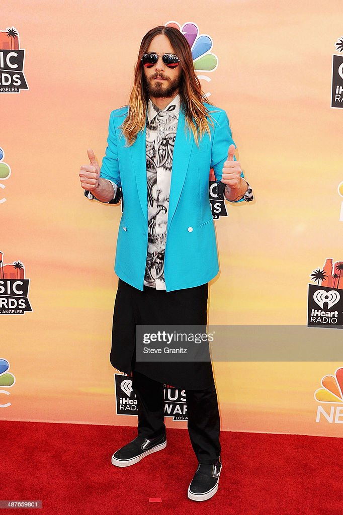 Actor/singer Jared Leto attends the 2014 iHeartRadio Music Awards held at The Shrine Auditorium on May 1, 2014 in Los Angeles, California.