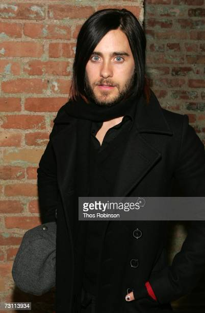Actor/singer Jared Leto attends the 'Chapter 27' party at the Airborne Lounge with Extra during the 2007 Sundance Film Festival on January 25 2007 in...