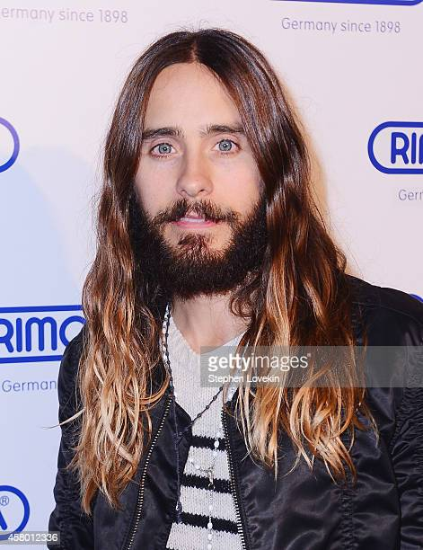 Actor/singer Jared Leto attends the Rimowa NYC Store Grand Opening at Rimowa on October 28 2014 in New York City