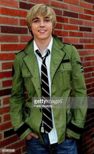 Actor/Singer Jesse McCartney arrives at the 18th Annual Kids Choice Awards at UCLA's Pauley Pavillion on April 2 2005 in Westwood California