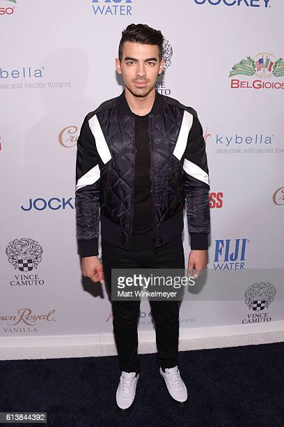 Actor/singer Joe Jonas attends the Men's Fitness Game Changers Celebration at Sunset Tower Hotel on October 10 2016 in West Hollywood California