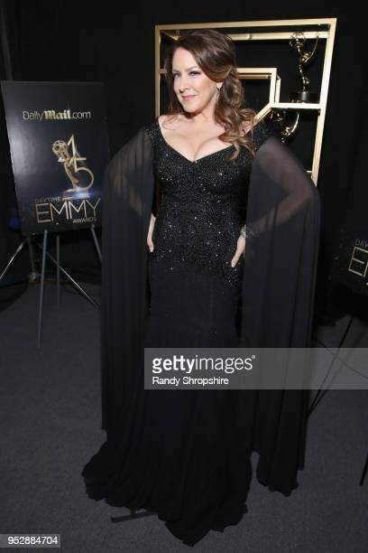 Actor/singer Joely Fisher attends the DailyMailcom DailyMailTV Trophy Room at the Daytime Emmy Awards 2018 on April 29 2018 in Pasadena California