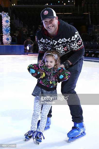 Actor/Singer Joey Fatone attends Disney On Ice Presents Rockin' Ever After Premiere/Skating Party at Staples Center on December 12 2013 in Los...