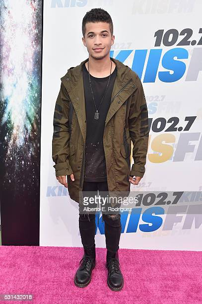 Actor/singer Jordan Fisher attends KIIS FM's Wango Tango 2016 at StubHub Center on May 14 2016 in Carson California