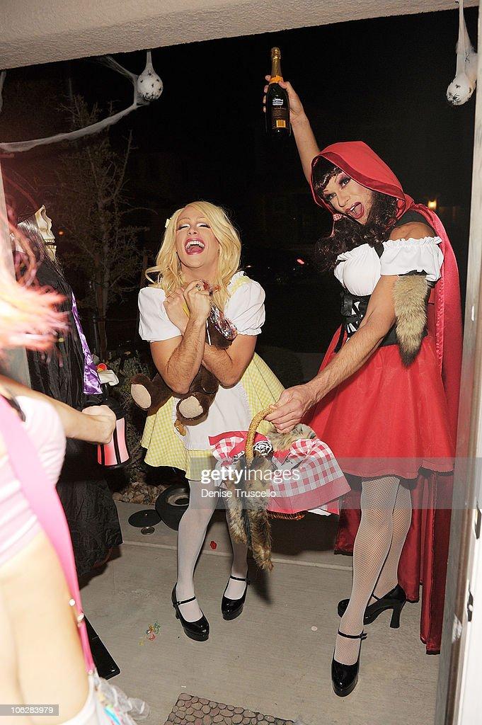 Josh Strickland Attends Halloween Party In Las Vegas