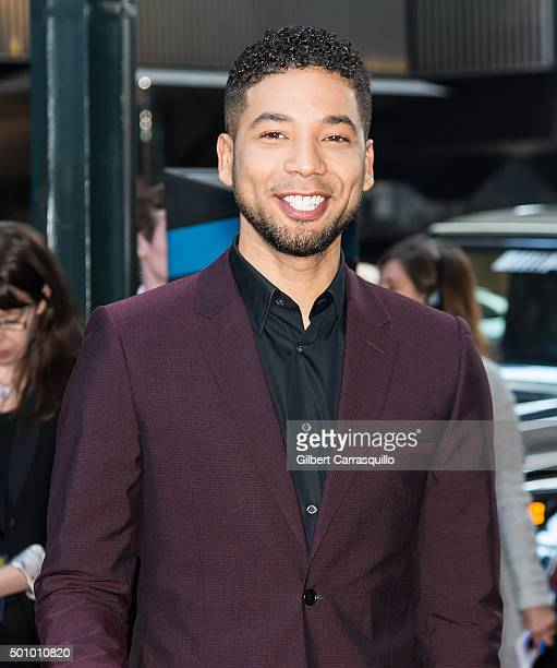 Actor/singer Jussie Smollett attends Billboard's 10th Annual Women In Music at Cipriani 42nd Street on December 11, 2015 in New York City.