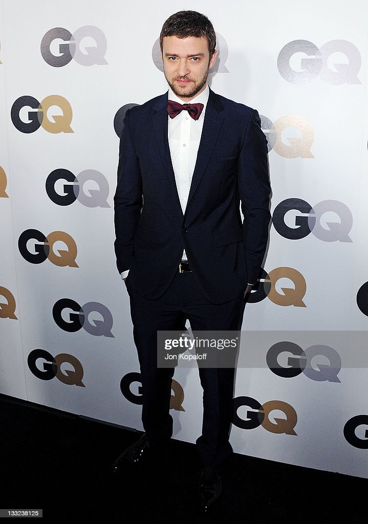 Actor/singer Justin Timberlake arrives at the 16th Annual GQ 'Men Of The Year' Celebration at Chateau Marmont on November 17, 2011 in Los Angeles, California.