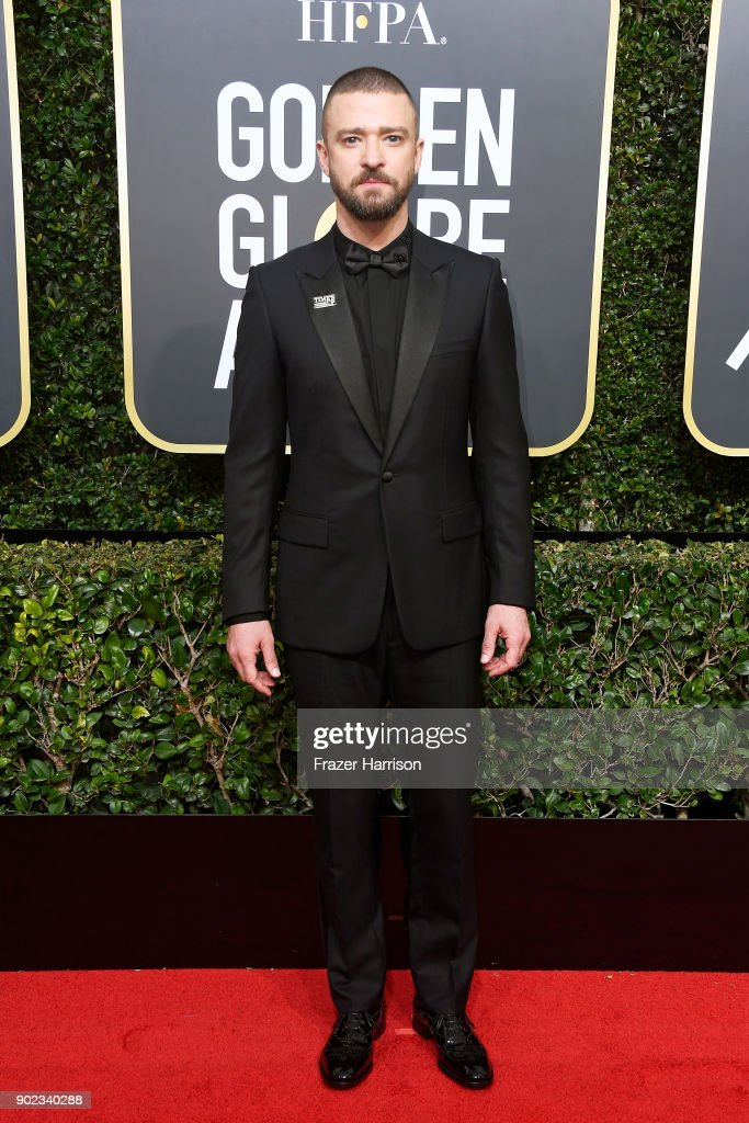 Actor/singer Justin Timberlake attends The 75th Annual Golden Globe Awards at The Beverly Hilton Hotel on January 7, 2018 in Beverly Hills, California.