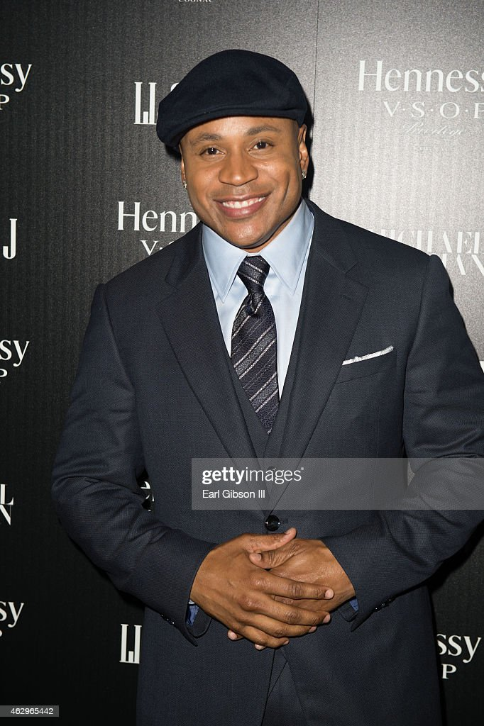 Actor/Singer LL Cool J attends the Hennessy Toasts Achievements In Music Awards Dinner With on February 7, 2015 in Los Angeles, California.