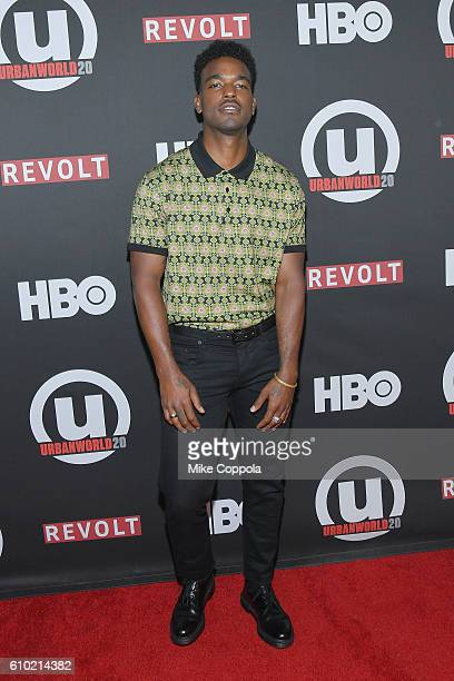 Actor/singer Luke James attends the 20th Annual Urbanworld Film Festival The New Edition Story Screening at AMC Empire 25 theater on September 24...
