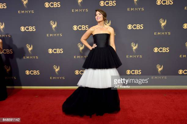 Actor/singer Mandy Moore attends the 69th Annual Primetime Emmy Awards at Microsoft Theater on September 17 2017 in Los Angeles California