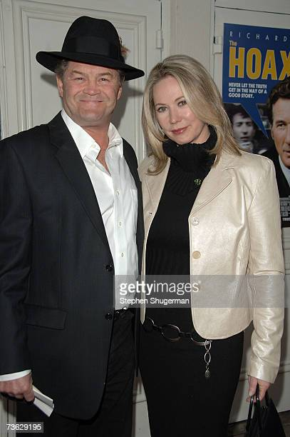 Actor/Singer Mickey Dolenz and daughter Ami Dolenz attend a special screening for Miramax's The Hoax at the Mann Westwood Village Theater March 18...