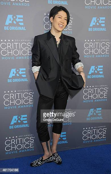 Actor/singer Miyavi arrives at the 20th Annual Critics' Choice Movie Awards at Hollywood Palladium on January 15 2015 in Los Angeles California