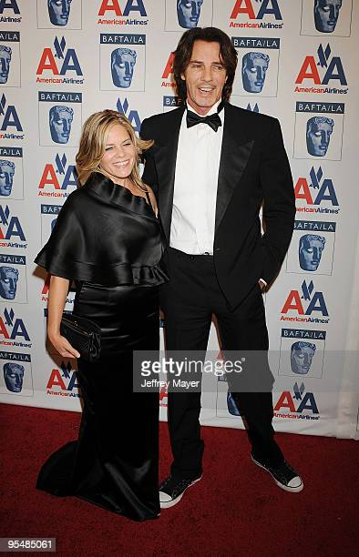 Actor/singer Rick Springfield and Barbara Porter attend the 18th Annual BAFTA/LA Britannia Awards on November 5 2009 in Century City California