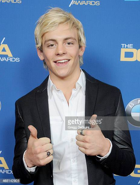 Actor/singer Ross Lynch arrives at the 66th Annual Directors Guild Of America Awards at the Hyatt Regency Century Plaza on January 25 2014 in Century...