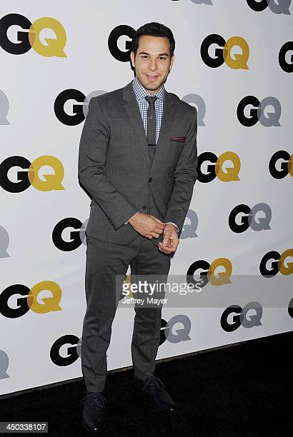 Actor/singer Skylar Astin arrives at the 2013 GQ Men Of The Year Party at The Ebell of Los Angeles on November 12 2013 in Los Angeles California