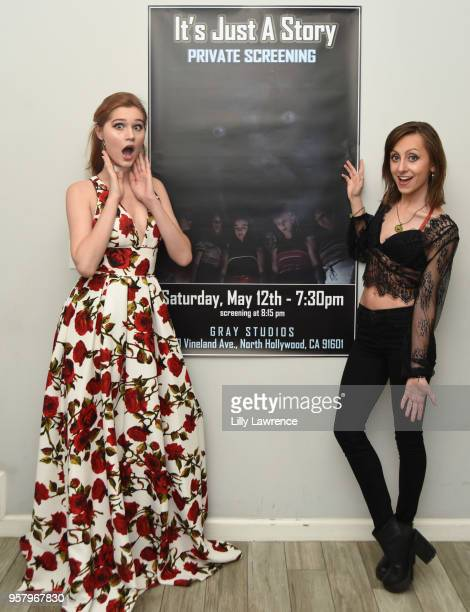 Actor/singer sonwriter/model Serena Laurel and actor/director Allisyn Ashley Arm attends world premiere of Allisyn Ashley Arm's 'It's Just A Story'...