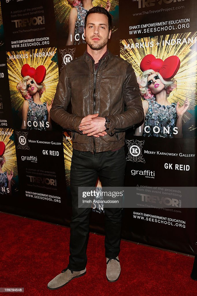 Markus + Indrani ICONS Book Launch Party - Arrivals : News Photo