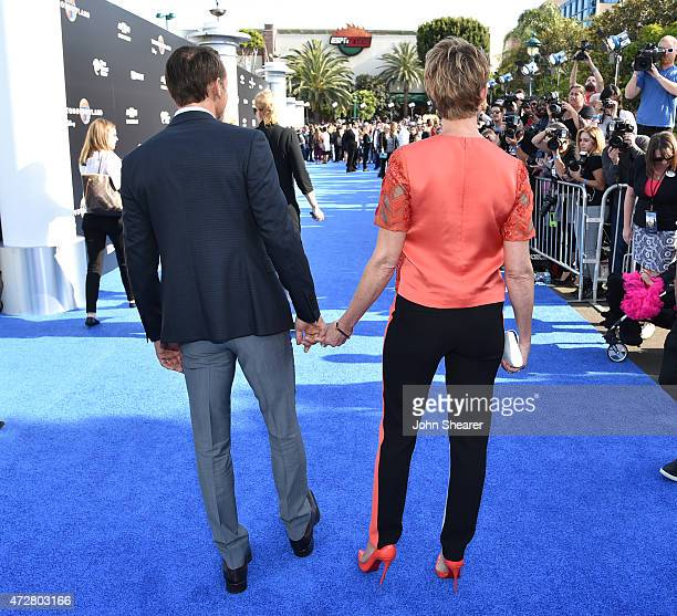Actor/singer Tim McGraw and singer Faith Hill attend the premiere of Disney's 'Tomorrowland' at AMC Downtown Disney 12 Theater on May 9 2015 in...