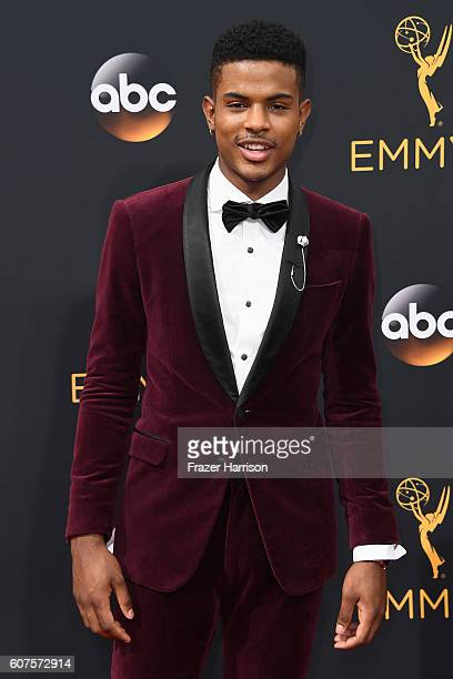 Actor/singer Trevor Jackson attends the 68th Annual Primetime Emmy Awards at Microsoft Theater on September 18 2016 in Los Angeles California